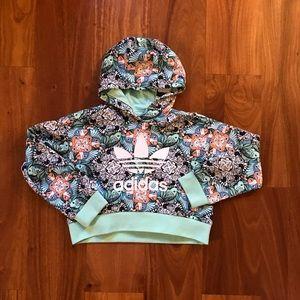 Kids adidas Zoo Print Hoodie size XS